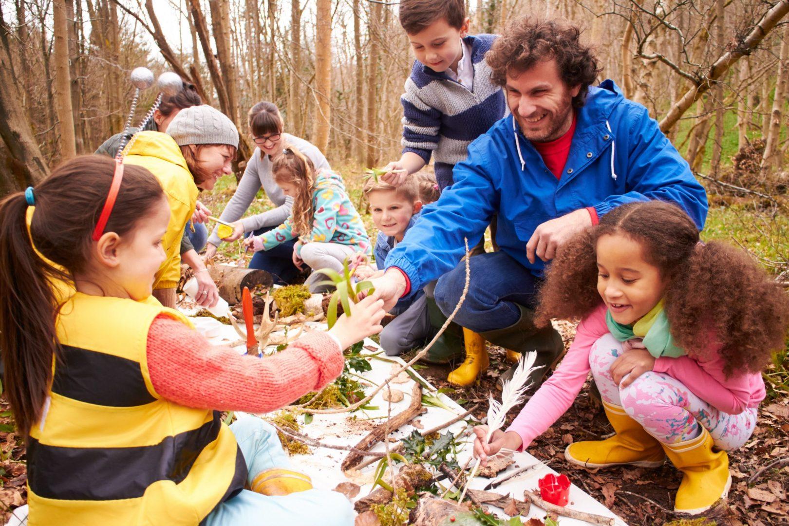 digital detox in schools | outside play