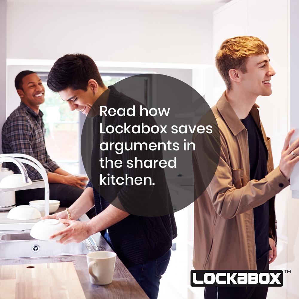 fridge lockable box | treat safe