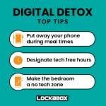 Lockabox Phone locker: Digital detox