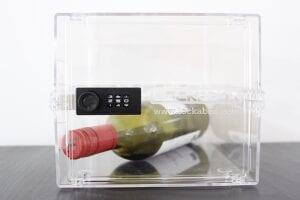 lockable box for wine