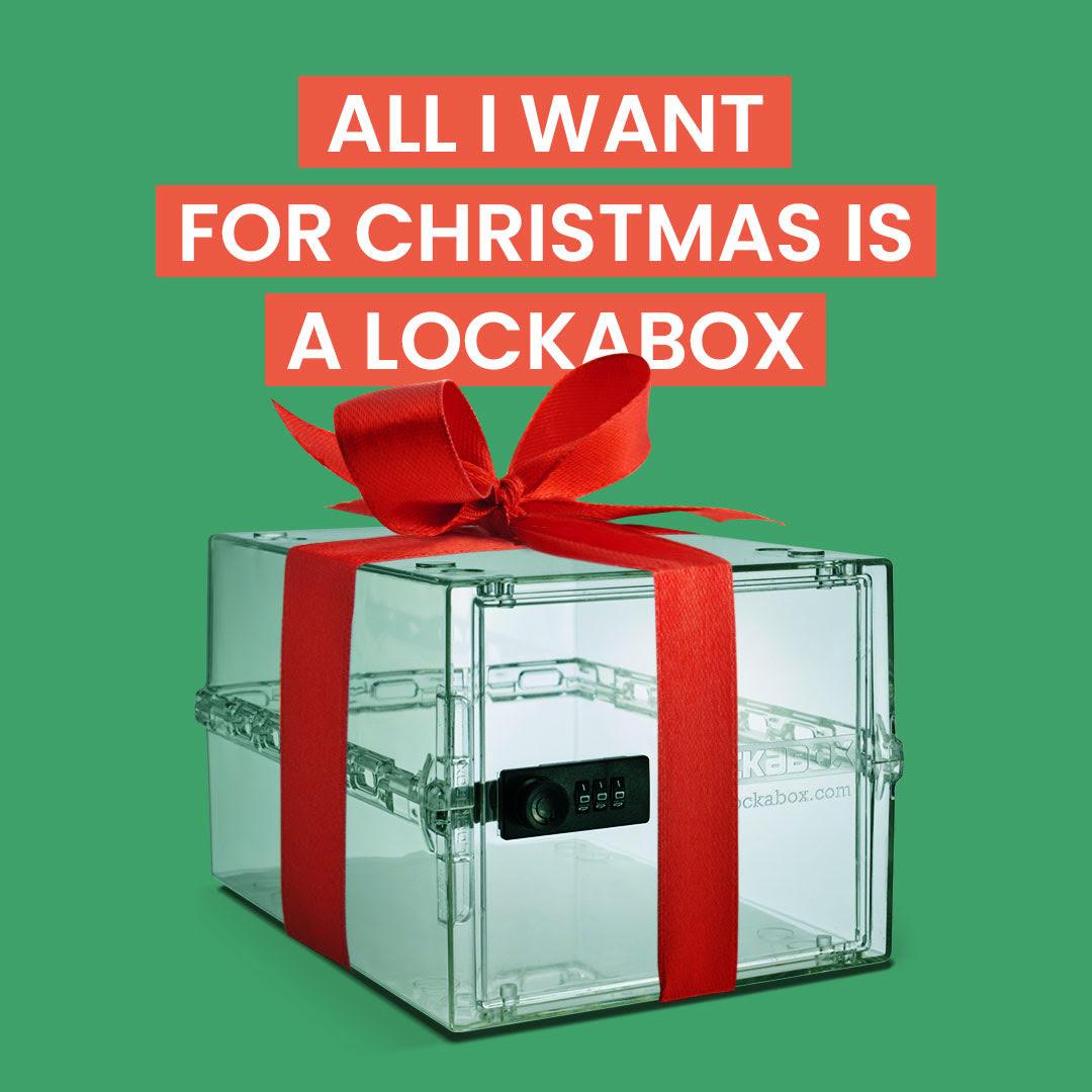 lock box Christmas gift | lockable chocolate box