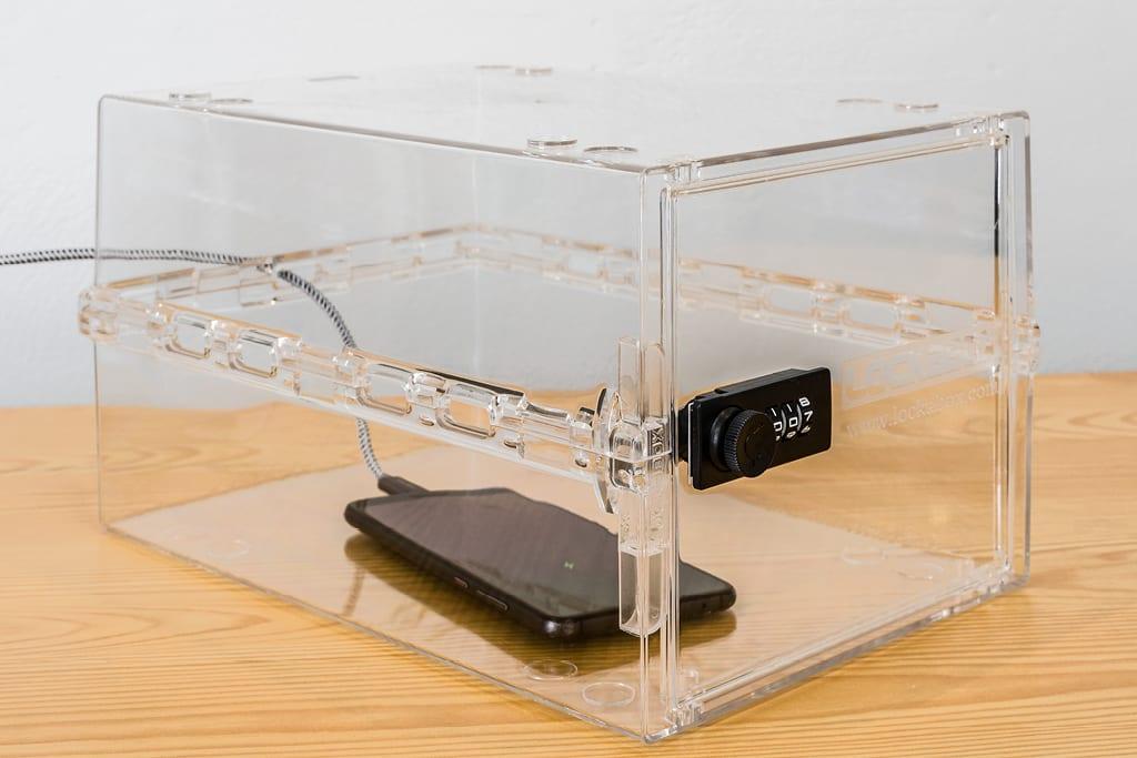 locked storage box | home safe box