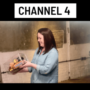 Channel 4 lockable box   food storage box