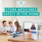 medicine storage box | lockable pill box