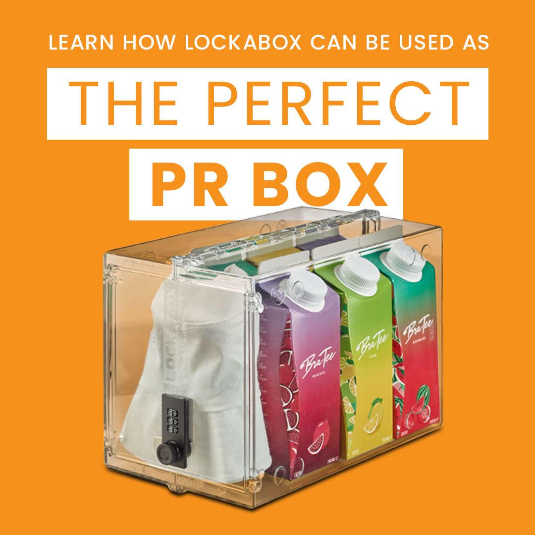 Lockabox PR box and PR package