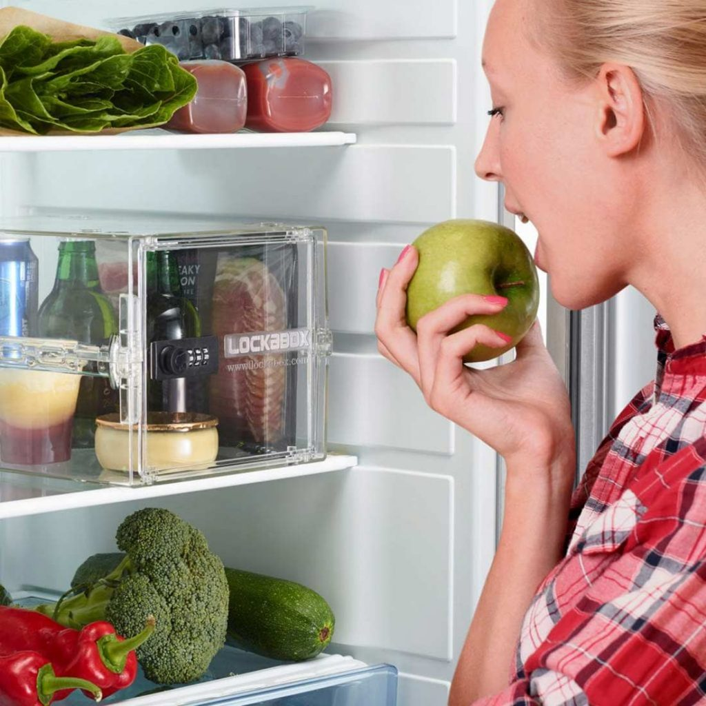 Food fridge locker for students