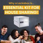 Home safe box for houseshares