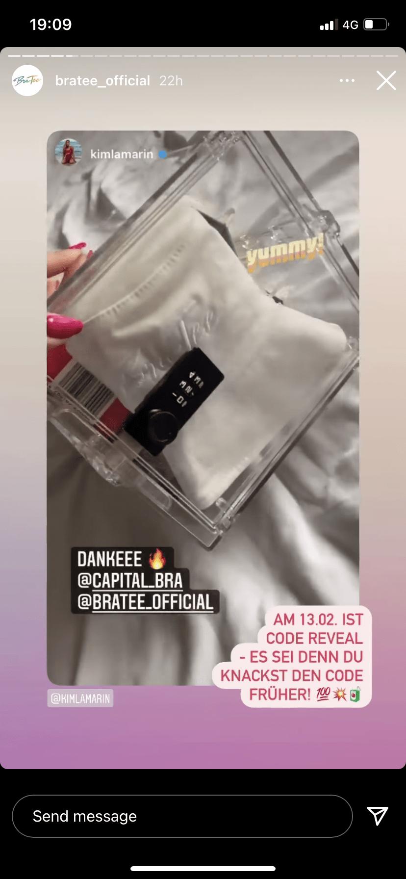 BraTea lockable PR box
