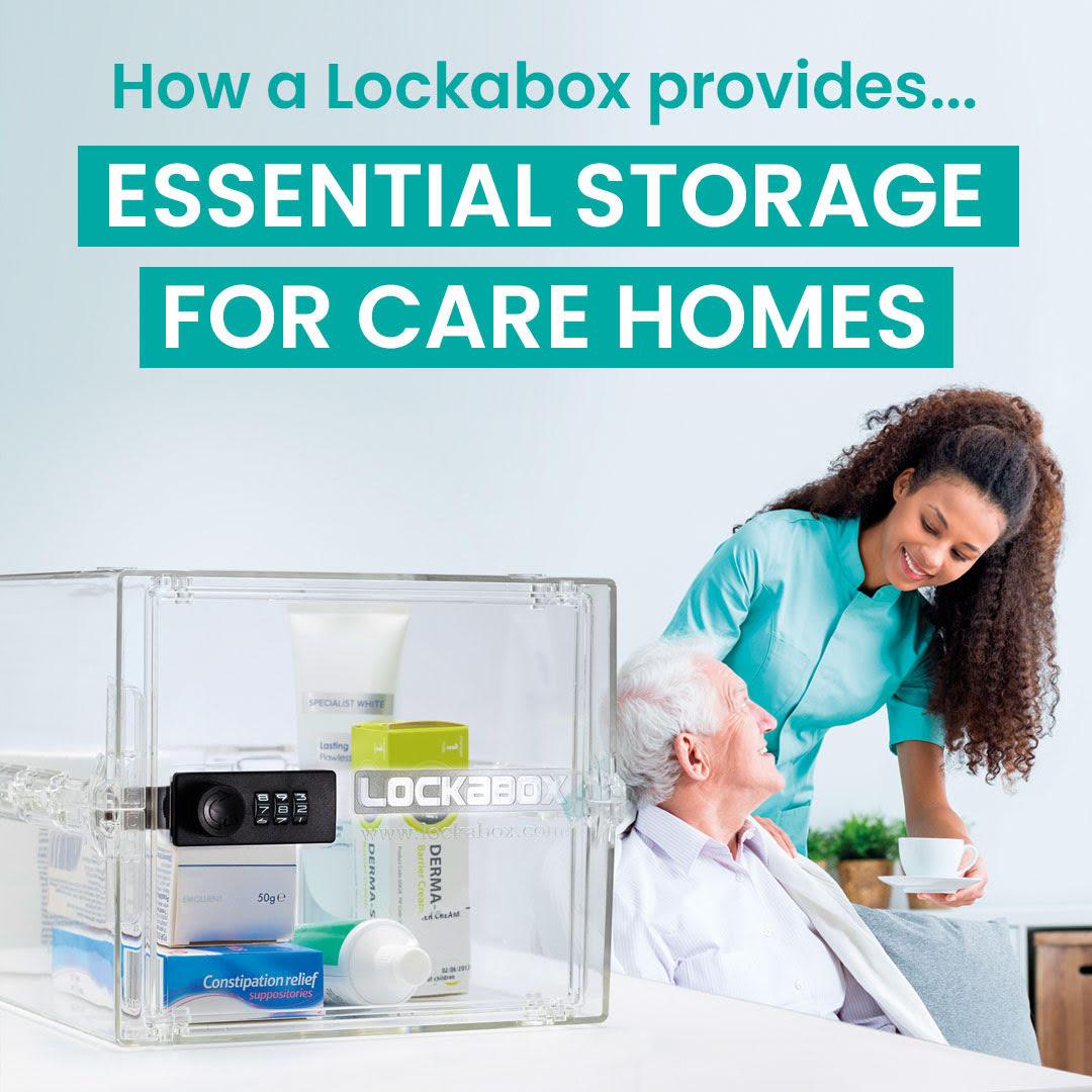 Person centered care | care home storage